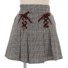 LIZ LISA Glen Check Sukapan Skirt