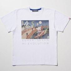 Eureka Seven x Ungreeper Renton & Eureka White T-Shirt