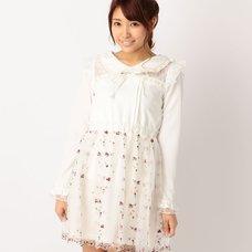 LIZ LISA Floral Organdy Dress