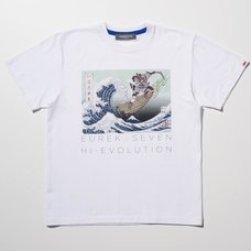 Eureka Seven x Ungreeper Nirvash White T-Shirt