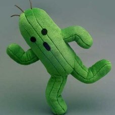 Final Fantasy Cactuar Plush (Re-run)