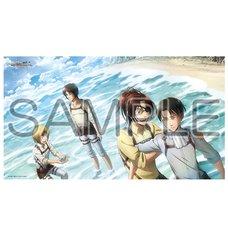 Attack on Titan: Ocean Ver. Bath Towel