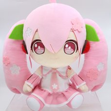 Sakura Miku Big Plush