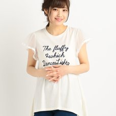 LIZ LISA Flock Print T-Shirt