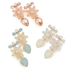 LIZ LISA Flower Bijou Earrings