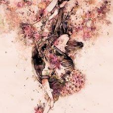 "Sakura Exhibition: ai ""Fluttering Down"" Poster"