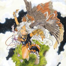 Kousuke Fujishima Signed Limited Edition Framed Oh My Goddess! Primagraphie Art Print: Space Hunter