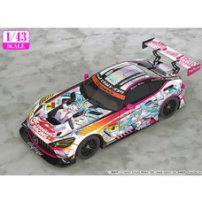 1/43 Scale Good Smile Hatsune Miku AMG 2021 Super GT Ver.