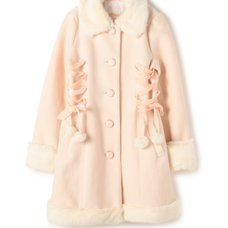 LIZ LISA Lace-Up Pom Pom Coat (Limited Edition)