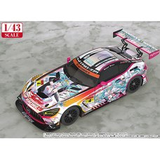 1/43 Scale Good Smile Hatsune Miku AMG 2021 Super GT 100th Race Commemorative Ver.