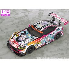 1/18 Scale Good Smile Hatsune Miku AMG 2021 Super GT Ver.