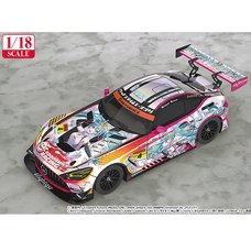 1/18 Scale Good Smile Hatsune Miku AMG 2021 Super GT 100th Race Commemorative Ver.