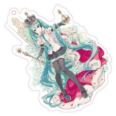 Hatsune Miku 10th Anniversary Acrylic Keychain