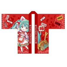Hatsune Miku x Maneki Neko Collaboration Maneki Miku Happi Coat