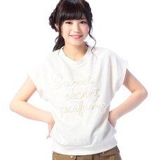 LIZ LISA Flower Lace Shirt