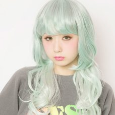 LLL Princess Wave Long Mint Cigarette Wig