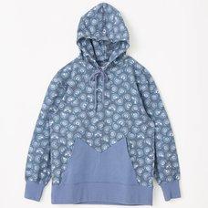 Miku Moji Pattern Hoodie