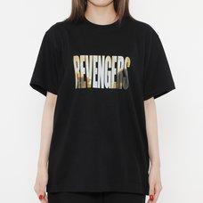 Tokyo Revengers Scene Photo Black T-Shirt