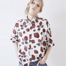 Q-pot. Strawberry Field Dress Shirt