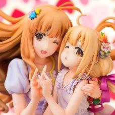 Idolm@ster Cinderella Girls Kirari Moroboshi & Anzu Futaba 1/8 Scale Figure