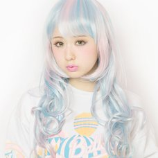 LLL Princess Wave Long Cotton Candy Wig