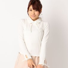 LIZ LISA Ribbed Tight Shirt