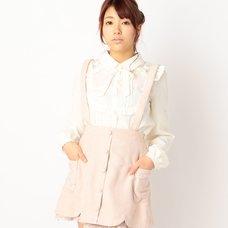 LIZ LISA Cut Ribbon Skirt