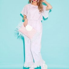 Swankiss Mermaid Print Overalls