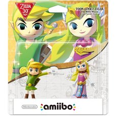 Legend of Zelda: The Wind Waker Toon Link & Zelda amiibo