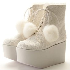 Swankiss Bonbon Lace Boots