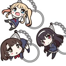 Saekano: How to Raise a Boring Girlfriend Tsumamare Keychain Collection