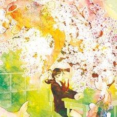 """Sakura Exhibition: Mogusa """"Letter"""" Poster"""
