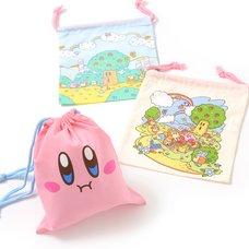 Kirby Super Star Drawstring Bag