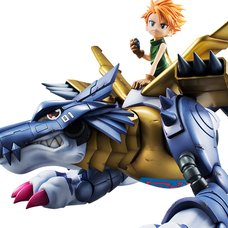 Precious G.E.M. Series Digimon Adventure Metal Garurumon & Yamato Ishida (Re-run)
