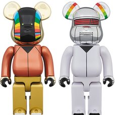 BE@RBRICK Daft Punk Discovery Ver. 400% 2-Pack