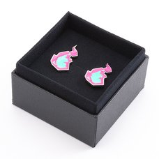 Promare Burnish Flare Clip-On Earrings