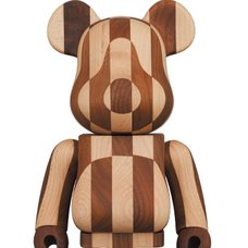 BE@RBRICK Karimoku Longitudinal Chess 400%