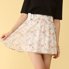 Honey Salon Vintage Tulip Sukapan Skirt