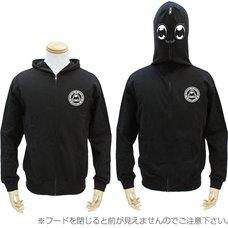 Pop Team Epic Full Zip Black Hoodie