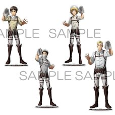 Attack on Titan: Cleaning Ver. Big Acrylic Figure Collection