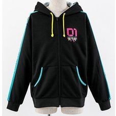Vocaloid Hatsune Miku Zip-Up Hoodie (Ladies' Free)