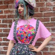 6%DOKIDOKI Colorful Rebellion/Gravity Pink T-Shirt