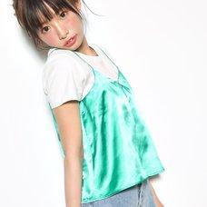 Love Live! Sunshine!! Satin Green Camisole & T-Shirt Set