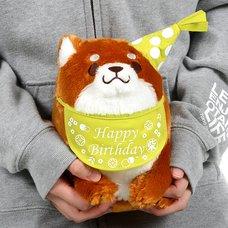 Chuken Mochi Shiba Rice Shop Birthday Plush Collection