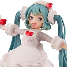 Hatsune Miku Sweet Tea Time Figure: Strawberry Short Ver.