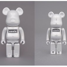 BE@RBRICK Oasis White Chrome 100% & 400% Set
