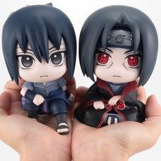 Look Up Series Naruto Shippuden Sasuke & Itachi Set w/ Bonus Cushion