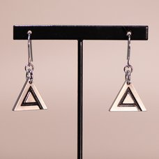 Ghost in the Shell: SAC_2045 x haraKIRI Collaboration Accessory Public Security Section 9 Pierced Earrings