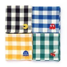 Pac-Man Cross-Stitch Handkerchiefs