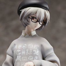 Radio Eva Evangelion Rei Ayanami: Original Color Ver. 1/7 Scale Figure